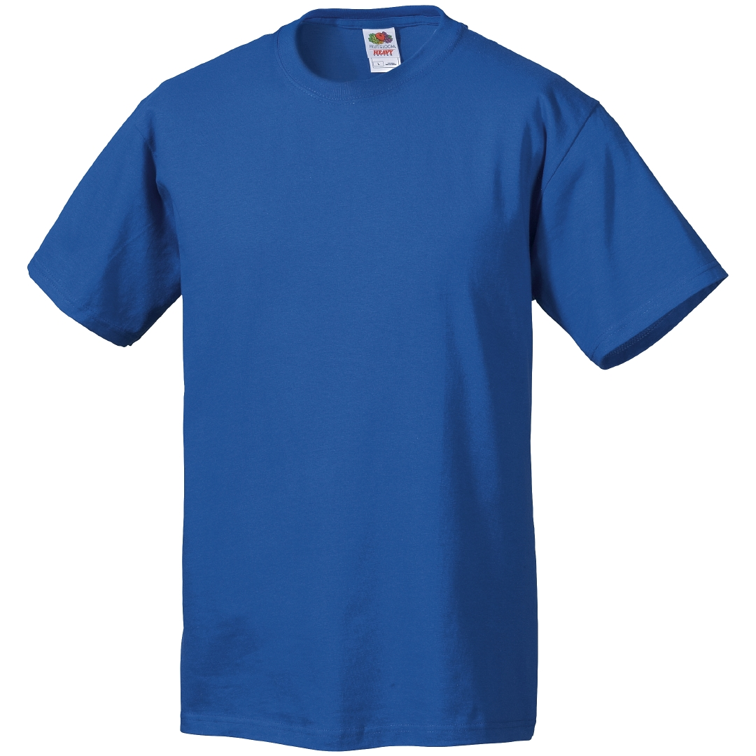 3133998Vt Fruit of the Loom T-Shirt royalblau Octavio Arbeitsschutz